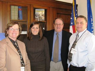 ACE members meeting with staff in Rep. Kagen's office during the 2009 fly-in