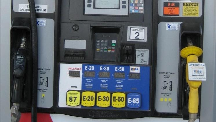 Ethanol blender pump